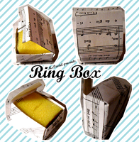 Origami Ring Box Modified by MsPastel