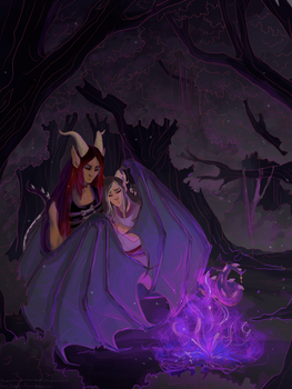 Chandi and Rahkalm by Simply-Psycho