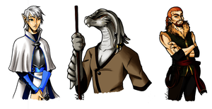 DandD - 5e. Campaign Characters by SailorAnime