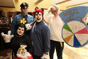 Animaniacs Cosplayers by djzippy