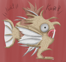(Magi)Korp (No outlines) by Zhooves