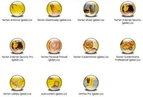 Symantec Apps Icons by jamest