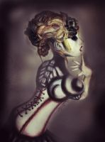 GirltrippedContestEntry-Cyborg by xindice