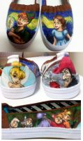 Peter Pan Shoes by Misakochan