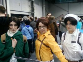 Attack On Hanji! by TommEdge4Life
