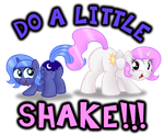 Do a Little Shake - Woona and Tia by AleximusPrime