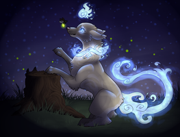 The night of the fireflies. by CaptainClovey