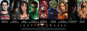 Justice League Movie Poster by Rated-R4-Ryan