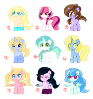 Adoptables 2 by Quila-Quila