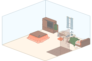 DH:: Bedroom Event by Lenlipui
