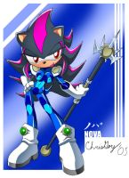 Nova the Hedgehog by CaptRicoSakara