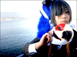 Black Butler - Smile by kaworu0926