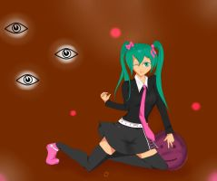 Rotten Heresy and Chocolate - Miku by neon-shan