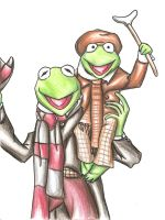 Kermit and tiny tim by Idigoddpairings