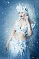 The Ice Queen III by la-esmeralda