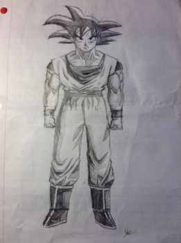 Adult Goku by Psychotic-Turtle