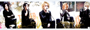 GazettE by siora-rin