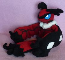 Yveltal Plush by AmberTDD