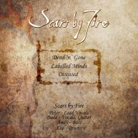 Scars by Fire demo back cover by AbstractDawn