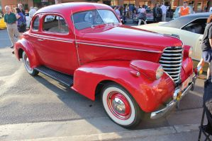 Red '38 Olds by KyleAndTheClassics