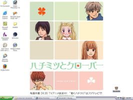 Honey and Clover desktop by CCMars