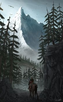 Mountain Path by svWt123