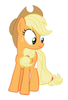 Applejack Surprised by Proenix