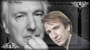 Alan Rickman Take Me wallpaper by MissNight