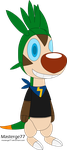 Jake the Robot Chespin by Masterge77