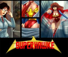 Superhawke Mousepad by Zairyo