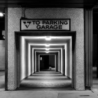 Parking Garage Entrance by NeuroticMatt