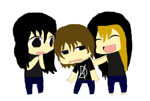 Seth, Dean. and Roman chibi by Sweet-racer