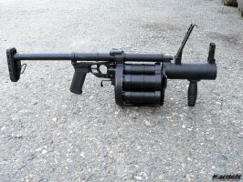 RG-6 grenade launcher 8 by Garr1971