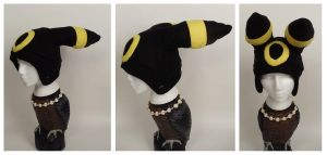Umbreon Hat by Mermade4u