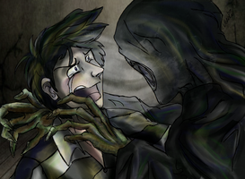 The Dementor's Kiss by X-x-Magpie-x-X
