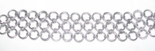Silver Chainmaille Bracelet by CjiadonBast