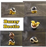 Weekly Sculpture: Buzzy Beetle by ClayPita