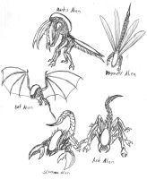More Possible Alien Variations by Predaguy