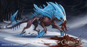 CROWFALL: Hell Cat by beastofoblivion