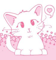 Too cute kitty by anavrinpapercuts