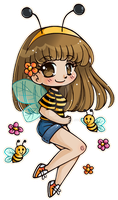HoneyBeeBuzz ::Commission:: by YamPuff