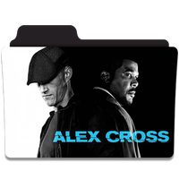 Alex Cross Folder Icon by efest