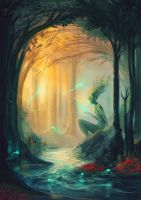 Forest by Draakh