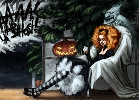 Master of Haunted House by t-zlod
