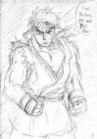 Street Fighter Ryu by Thurosis