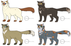 -Adopts- Feline   1 OPEN by Acerbiic