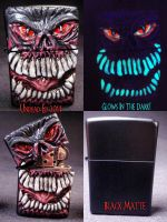 Ghastly Ghoul Zippo 1 by Undead-Art