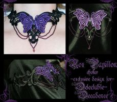 Nox Papillon choker by redLillith