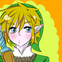 Skyward Sword Link by RoseOfDarkness2