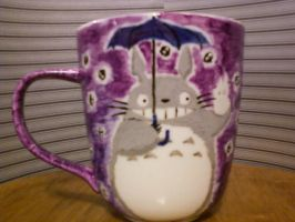 DIY Totoro Mug by steady-vertigo